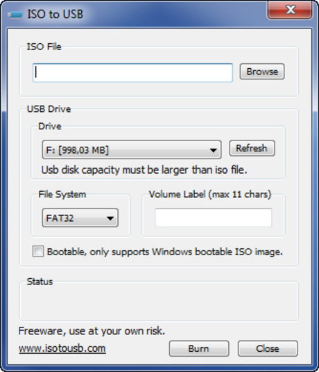 Download ISO to USB - USB Boot Win
